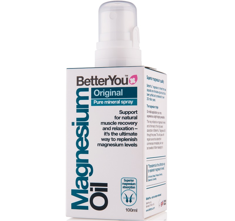 Magnesium Oil Original Spray.